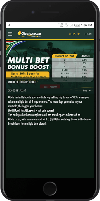 gbets multibet bonus