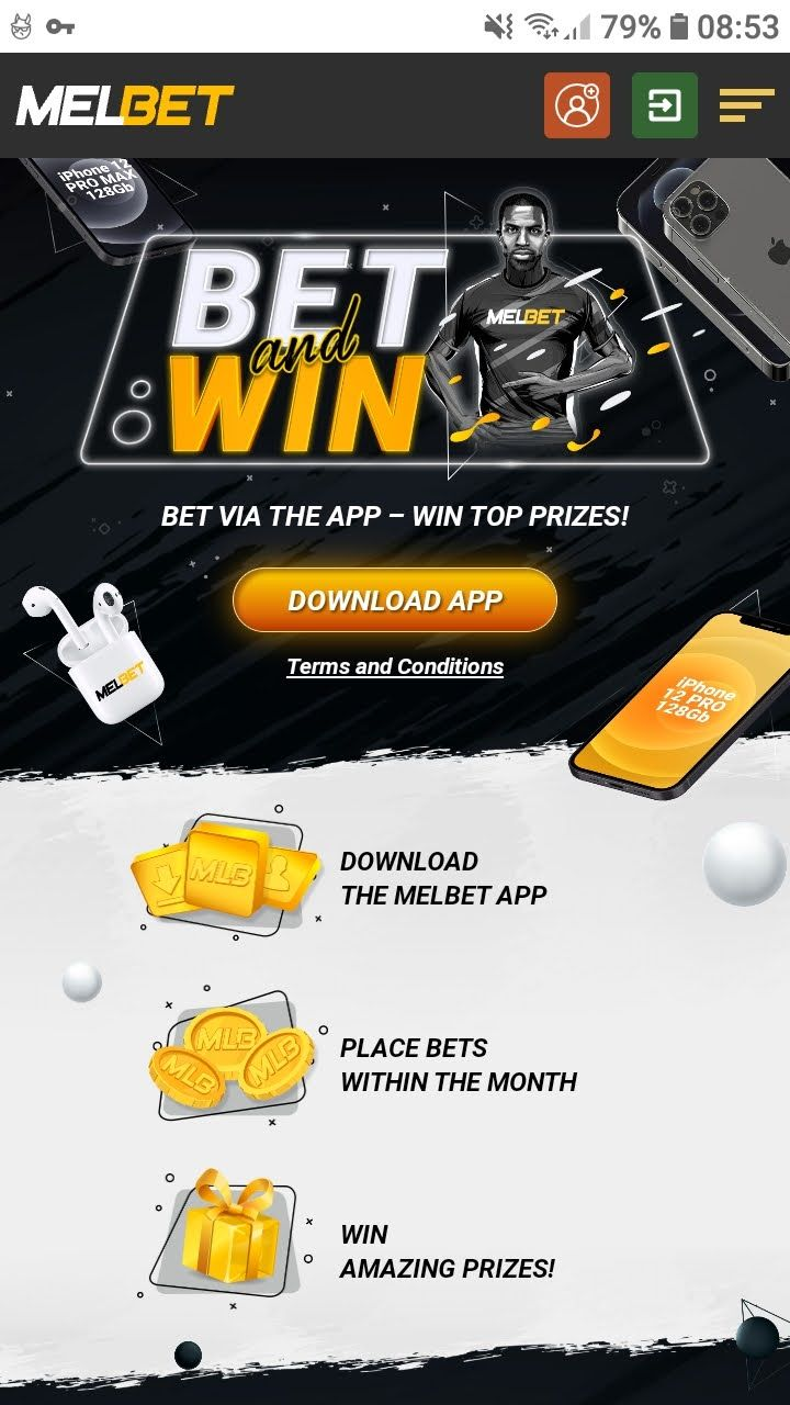 melbet bet and win app bonus