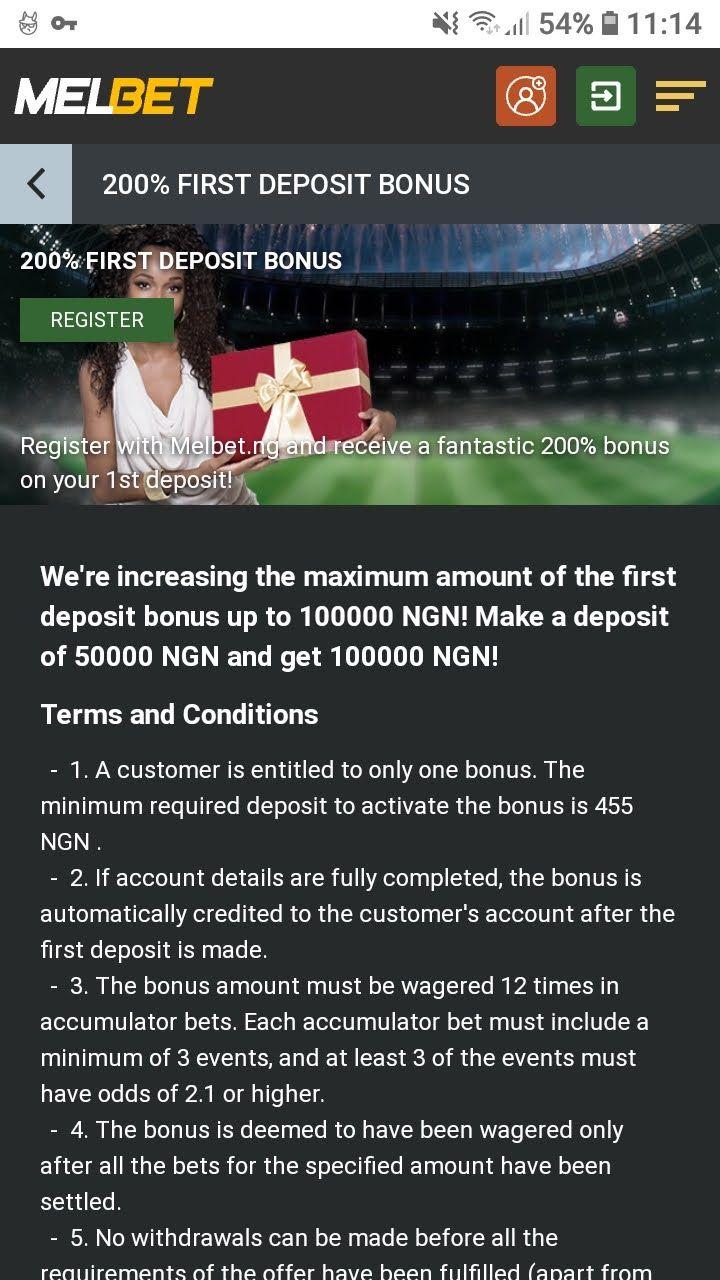 melbet 200% first deposit bonus