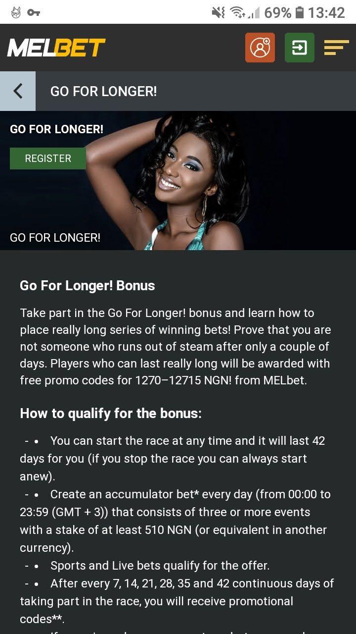 melbet go for longer bonus
