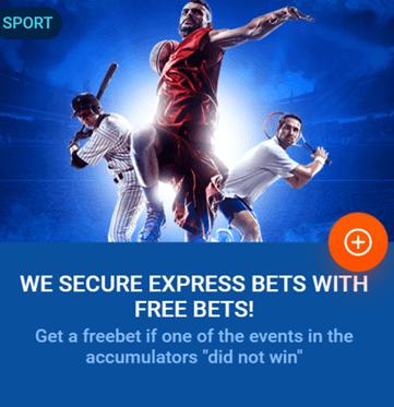 Free bet bonus Mostbet